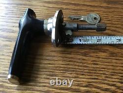 1920s 1930s Studebaker DOOR HANDLE withLOGO KEY vtg antique NOS exterior lock