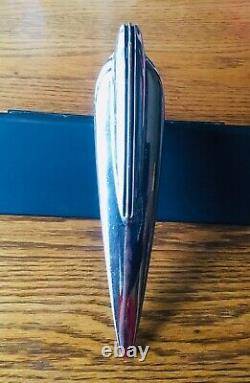 1937 Studebaker HOOD ORNAMENT EMBLEM vtg 1930s exterior trim latch handle