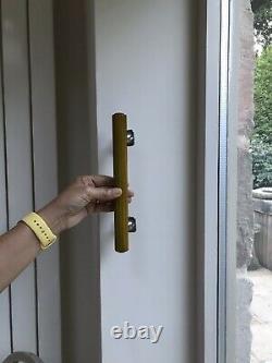 Antique Art Deco 1930s amber/green butterscotch door handle bakelite phenolic