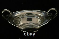 Antique Tiffany and Co. Sterling Silver Double Handled Sugar Bowl