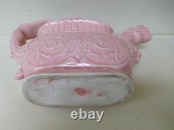 Art Deco LAUNDRY SPRINKLER Ceramic Effigy / DRAGON Spout & NUDE Woman Handle