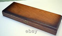 Art Deco Sheffield Bakelite handle carving Set 3 pcs Knife Fork Sharpening Rod