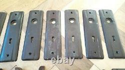 Bakelite Door Handles X 4 Sets