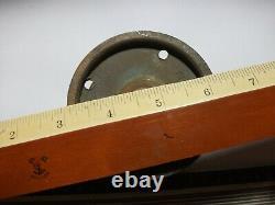 Brass Pair Door Knobs Handles by Dryad large art deco Bank door! 3 across