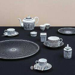 Hermes H Deco Mug No. 2 #p037131p Brand New In Box French Porcelain Save$$ F/sh
