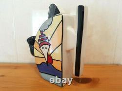 Lorna Bailey Teapot Art Deco Cruise Design Novelty Tea Pot T-Handled NEW