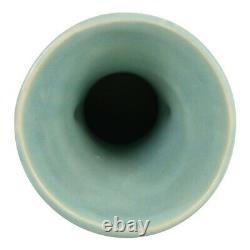 McCoy Pottery 1945 Matte Green Handled Vase Shape 5028