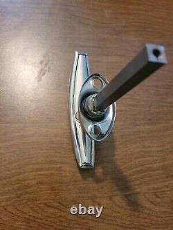 Original DOOR HANDLE vtg 1920s 1930s exterior non locking chrome Ford Dodge