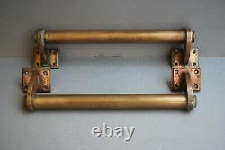 Original Patina Deco Door Handles / Pulls Handleses