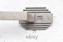 PAIR of Antique Art Deco Door Pull Handle Vtg Industrial Grab Bar SET OF 2
