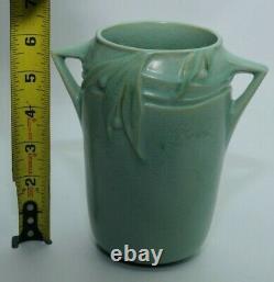 Roseville Pottery Art Deco Vase Double Handle