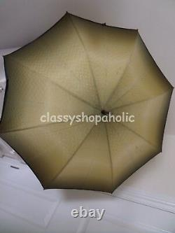 Stunning Vintage Paragon S. Fox & Co Parasol / Umbrella with Carved Dog Handle