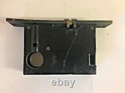 Vintage Art Deco Brass Penn Entry Door Set Pull Handle Plate Lock Corbin Mortise