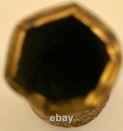 Vintage Gold Gilded Cane Head Marked 1947 With Inscription