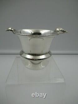 Vintage Mid Century MOSS Sterling Silver BLOSSOM HANDLE Toothpick Hors d'oeuvres