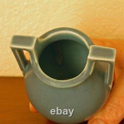 Vintage Rookwood Pottery Art Deco 2-Handled Cabinet Vase XXVIII 1928 #2558