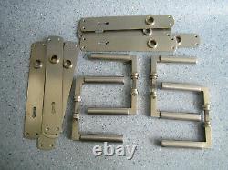Walter Gropius Bauhaus Germany Art Deco original old door handles set of 4