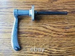 1933 Desoto Door Handle Vtg 1930s Mopar Extérieur Omega Serrure Sans Clé