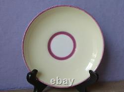 Antique Des Années 1930 Paragon Angleterre Jaune D'os Porcelaine Poignée Tasse À Thé Tasse À Thé