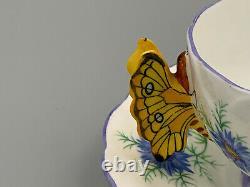 Aynsley Vintage Art Déco Tea Cup Et Saucer. Rare