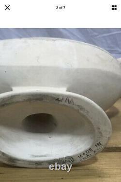 Constance Spry Fulham Potterie Jumelle Manœuvrée Fleur Manteau Planter Vase Black