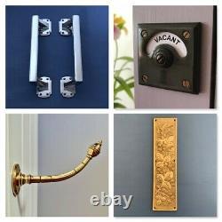 Grand Cuivre Art Déco Front Door Center Knob Handle Centre Plate Letter Knocker
