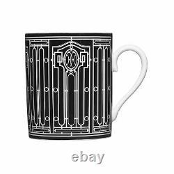 Hermès H Deco Mug No. 2 #p037131p Marque Neuve En Boîte Porcelaine Française Économisez$$ F/sh