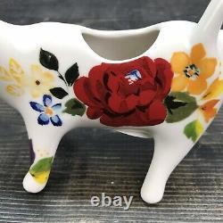 Pioneer Femme Rare Intemporel Cow Creamer Htf 7 Stoneware Dwithmw Safe