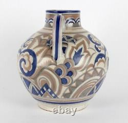 Poole Pottery Large Two Handled Art Déco Ax Pattern Vase Shape 901 Csa Poole Pottery Large Two Handled Art Déco Ax Pattern Vase Shape 901 Csa Poole Pottery Large Two Handled Art Déco Ax Pattern Vase Shape 901 Csa Poole Pottery Large