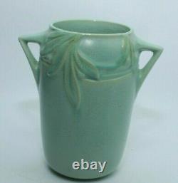 Roseville Pottery Art Déco Vase Double Poignée