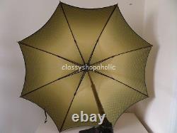 Superbe Paragon Vintage S. Fox & Co Parasol / Parapluie Avec Poignée De Chien Sculptée