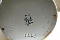 Vintage Enamelware Tiffin Carrier Boîte À Lunch Traditionnelle Tingkat Dabbas Japon 8